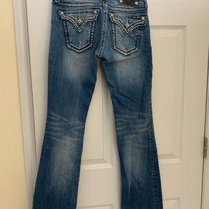 MissMe jeans bootcut lightly worn.